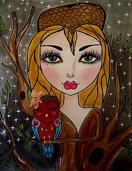 The Tree Girl by Maria  RUIZ