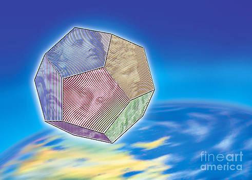 Nikos Smyrnios - The twelve Olympic Gods and Dodekahedron