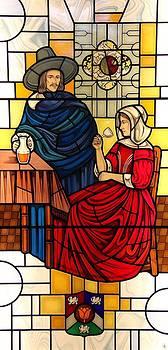 The Vermeer by Gilroy Stained Glass