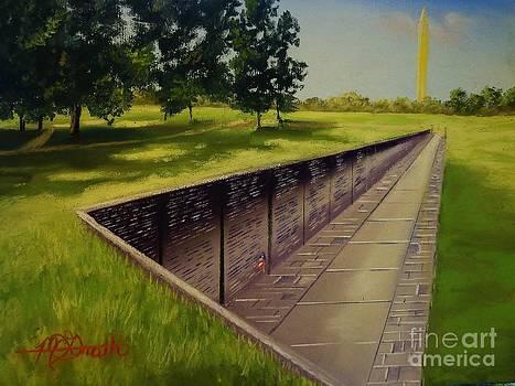The Vietnam War Memorial by Darren McGrath