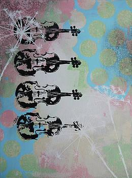 The violins by Bitten Kari