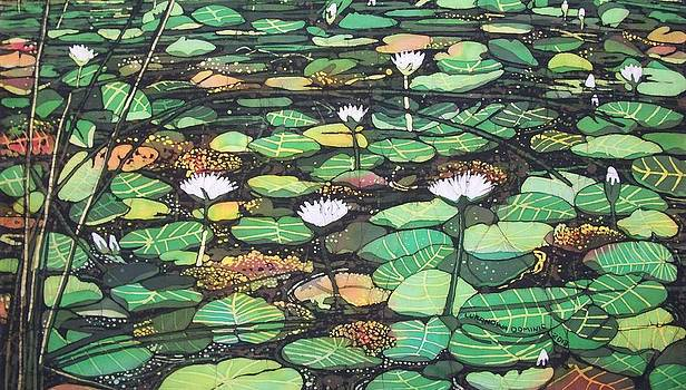The Water Lily by Lukandwa Dominic