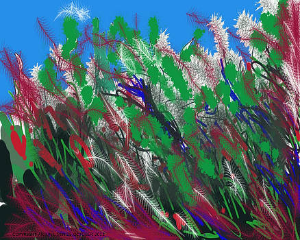 The Wind Among The Grasses by Arjun L Sen