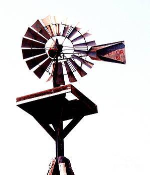The Windmill by Avis  Noelle