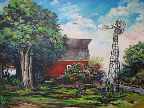 The Windmill of the Garden by Kendra Sorum