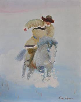 The Winter by Ji-qun Chen