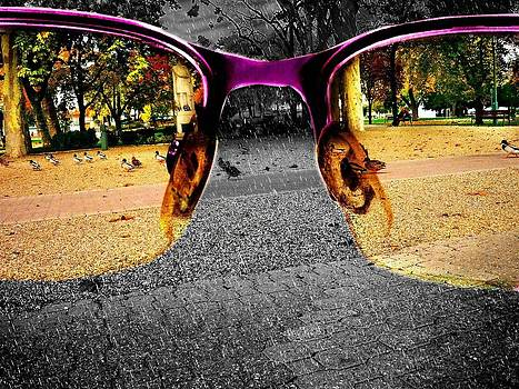 The World Through Pink Glasses by Peter Berdan