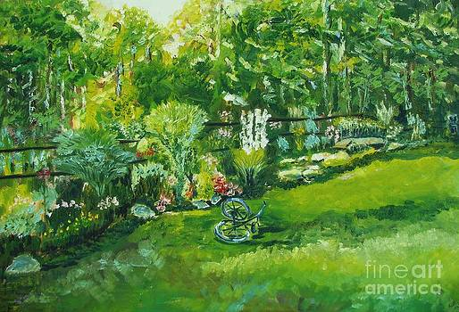 Country Garden by Laurel Anderson-McCallum
