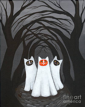 Thee Halloween Ghosts by Ryan Conners