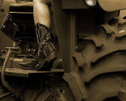 These Boots 1 Sepia by Sarah Egan