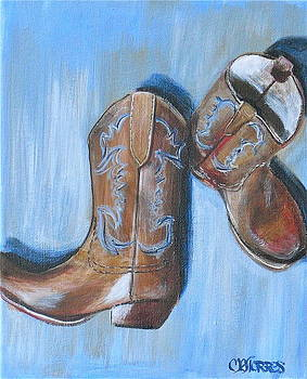 These Boots are Made for Walkin by Melissa Torres