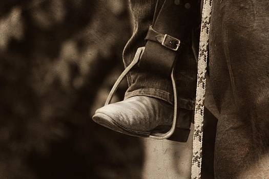 These Boots Were Made For Riding by Debbie Howden
