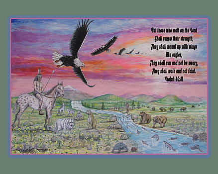 They Shall Mount Up With Wings Like The Eagle by Neal David Reilly