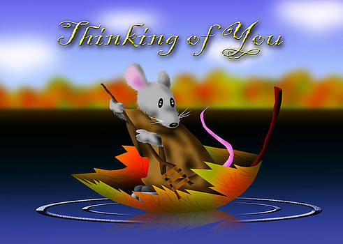 Jeanette K - Thinking of You Mouse