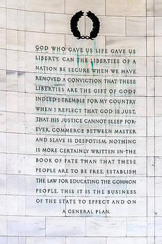 Darcy Michaelchuk - Thomas Jefferson Memorial Panel 2