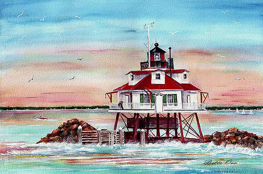 Thomas Point Lighthouse by Bette Orr