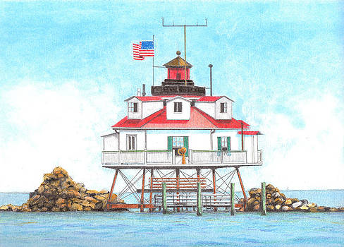 Thomas Point Lighthouse by David Gallagher