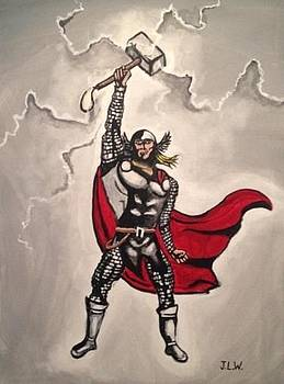 Thor by Justin Lee Williams