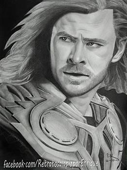 Thor Odinson - Chris Hemsworth by Enrique Garcia