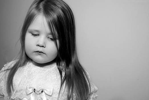 Thoughtful Little Girl by Stephanie Grooms