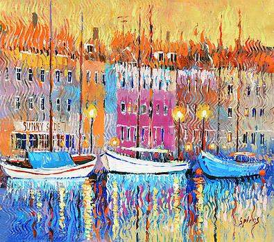 Three boats by Dmitry Spiros