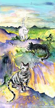 Miki De Goodaboom - Three Cats on The Penon de Ifach