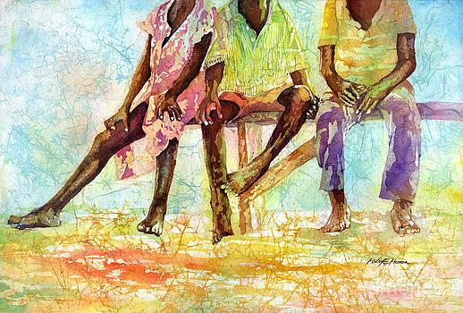 Hailey E Herrera - Three Children of Ghana