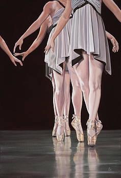 Three En Pointe by Kevin Aita