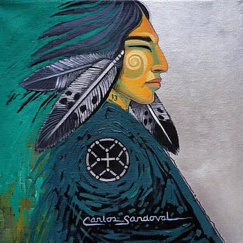 Three Feathers by Carlos Sandoval