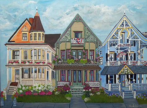Three Painted Ladies by Norma Tolliver