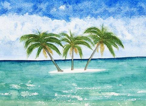 Three Palms by Chip Picott