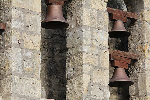 Three San Antonio Bells by Carrie Godwin