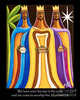 Three Wise Men Follow the Star by Susan Cliett