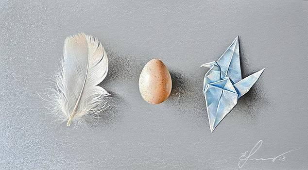 Three wonders by Elena Kolotusha