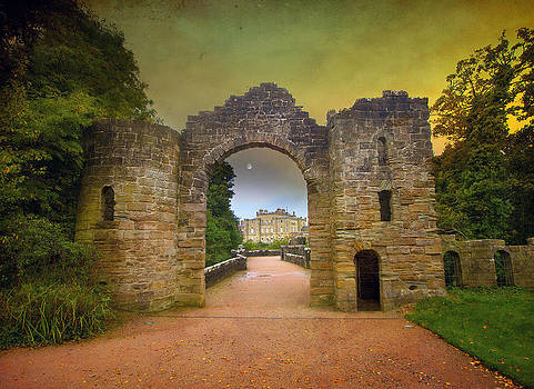 Through the Arch by Roy  McPeak