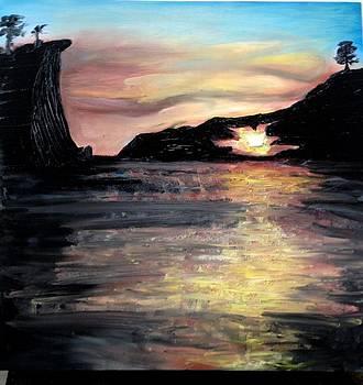Through the eye of the rock by Genevieve Elizabeth