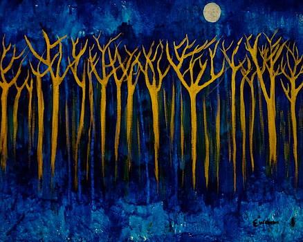 Through The Golden Forrest by Esther Wilhelm Pridgen