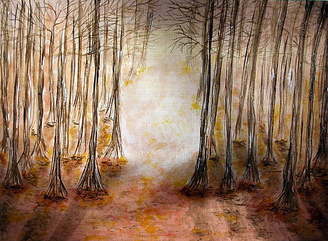 Through The Woods by Sandy Wager