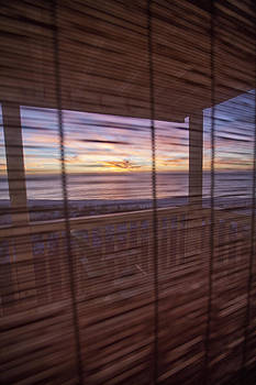 Thru the Window Shade by John Clemmer Photography