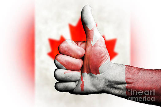 Thumbs up for Canada by Anthony Morgan