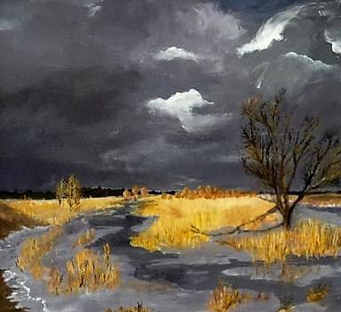 Thus in the Winter Stands the Lonely Tree by Bruce Combs - REACH BEYOND