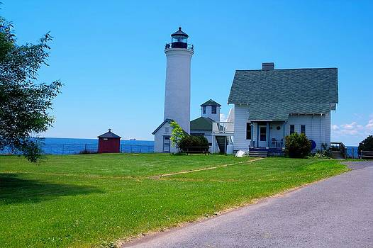 Tibbetts Point Lighthouse by Dave Files