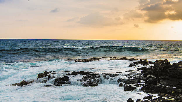 Tide Pool Sunsets in Hawaii by Brandon McClintock