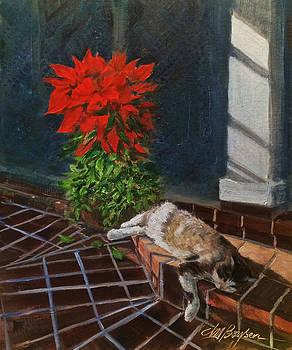 Tiger Lily in Repose by Maryann Boysen
