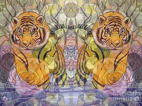 Tiger Spirits in the Garden of the Buddha by Joseph J Stevens