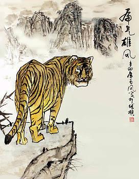 Tiger by Yufeng Wang