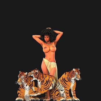 Tigers by Gwendolyn Morris