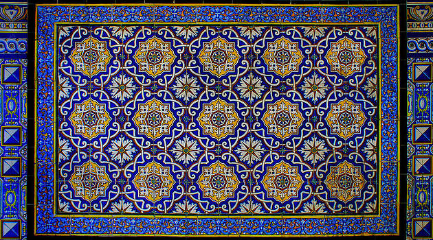 Tiled Wall by Cindy Bray