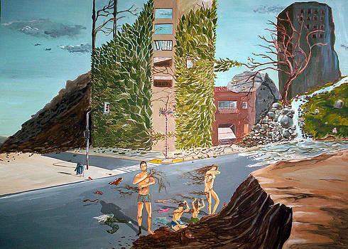 Time for an earth bath by Lazaro Hurtado