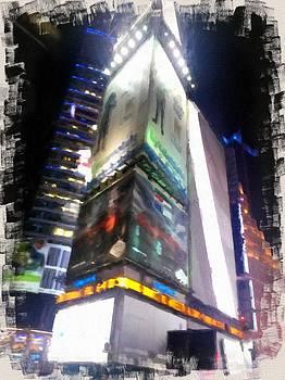 Times Square  by John  Duplantis